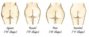 Different Butt Shapes-min