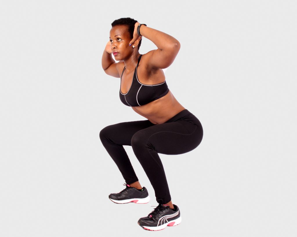 Best Butt Exercises: The Frog Jump
