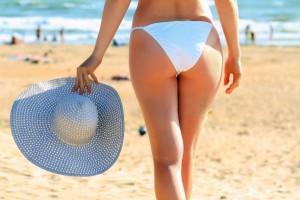 woman-on-a-beach