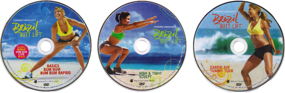 Brazil Butt Lift DVDs