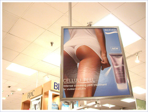 Cellulite product gimmick