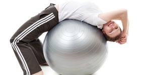 Swiss Ball Glute Exercises