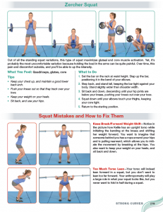 Strong curves review Exercise index