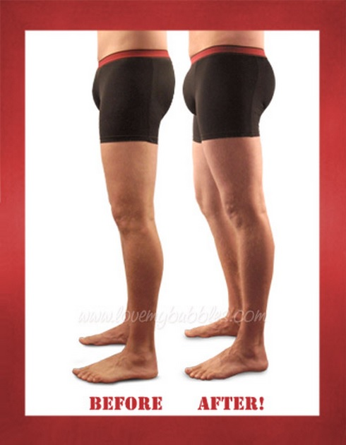 The Jackpot mens padded underwear