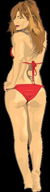 Nice bikini butt