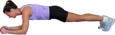 best butt exercises plank with lateral leg kicks