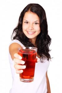 healthy fruit juices