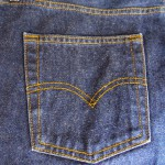 jeans pocket and yoke