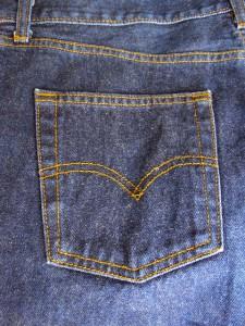 jeans pocket and yoke