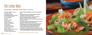Fish lettuce boats