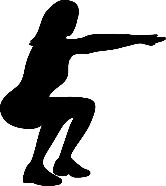 squat sillhouette