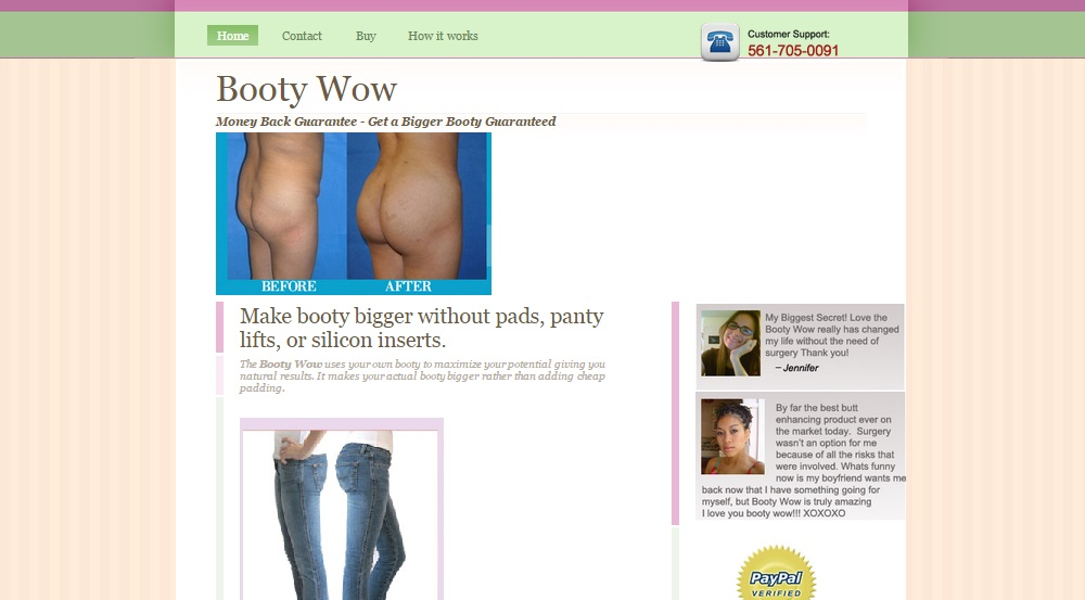 bootywow website
