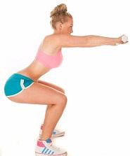 static squat hold