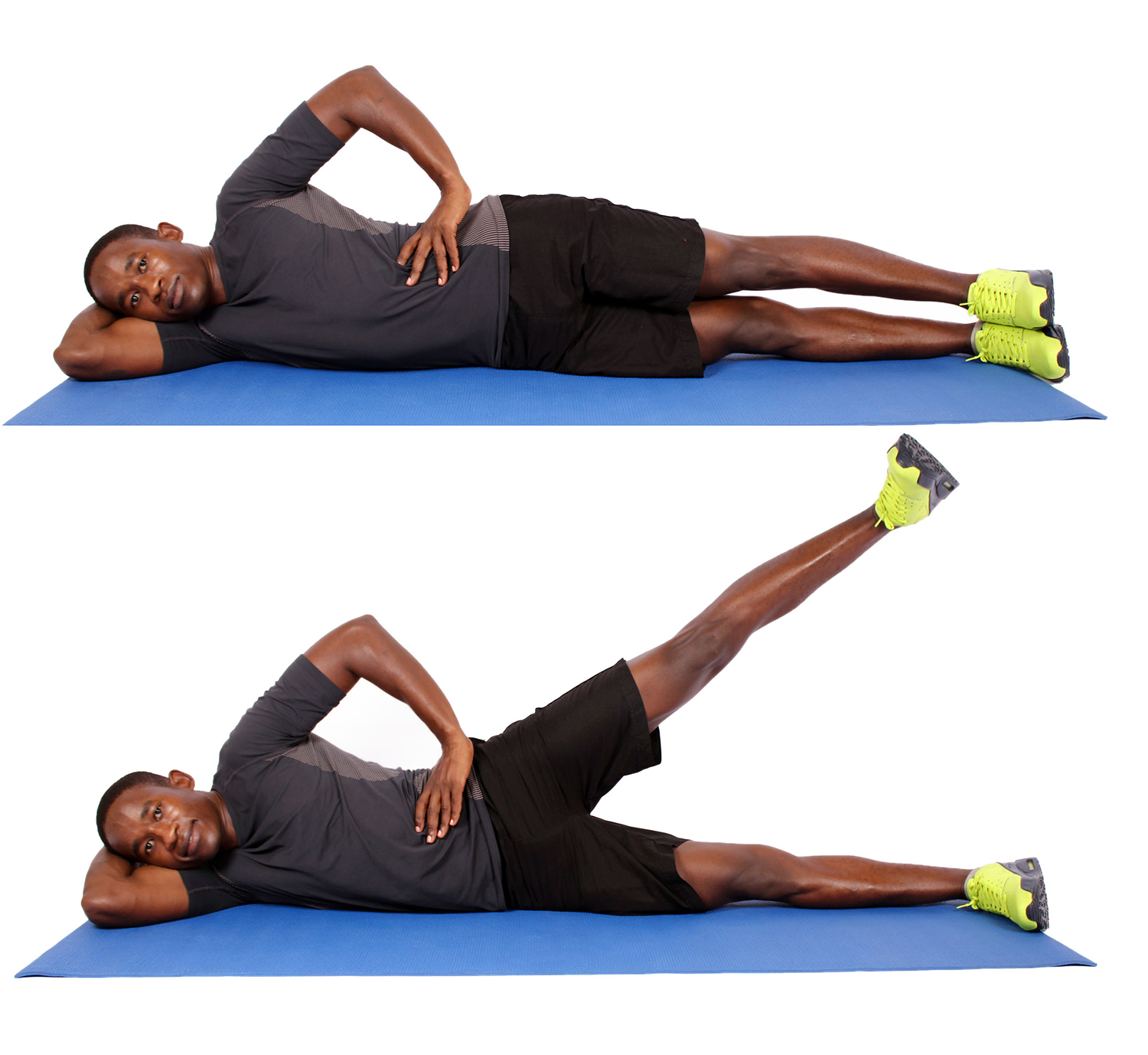 Strengthen The Muscles of the Lower Back and Relief Pain |Leg Lift Exercise