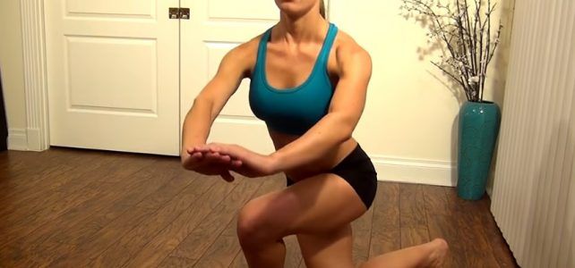 Best Butt Exercises: Curtsy Lunges
