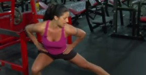 Best Butt Exercises: Side Lunges