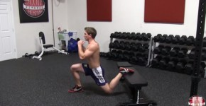Best Butt Exercises: Bulgarian Split Squats